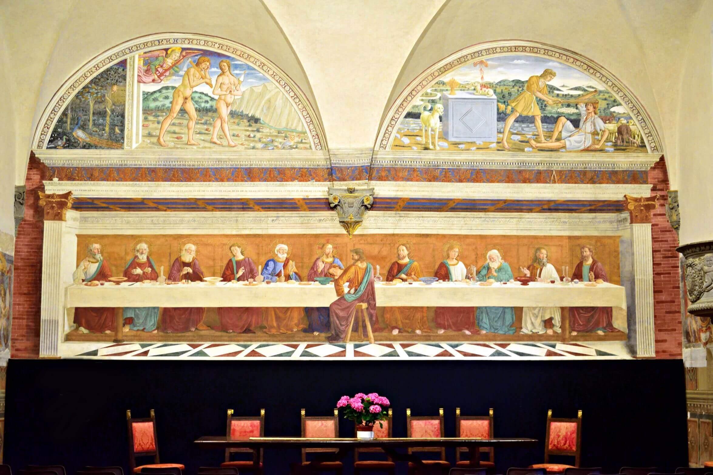 05-VisitChianti-Ultima-cena-ghirlandaio-Badia a Passignano-chianti-toscana-2350x1566